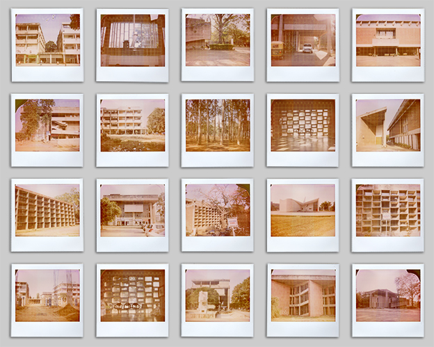 Chandigarh Polaroids Grid Film