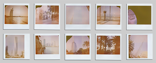 Dubai Polaroids for sale